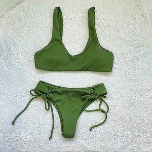 Zaful | Ribbed Bikini